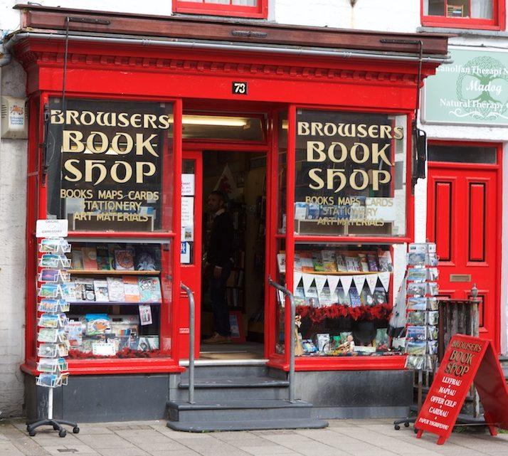 Browsers Bookshop Porthmadog